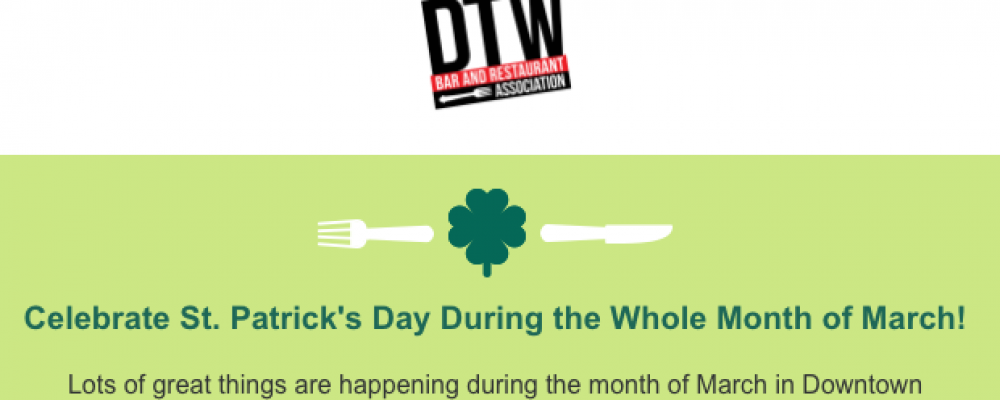 March Happenings in DTW!